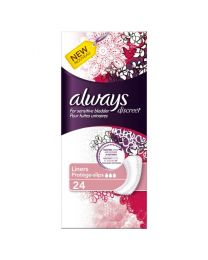 Always Discreet for Sensitive Bladder Liner 4 x 24 Pack