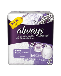 Always Discreet - Pants Medium (70-100cm) 12 Pack