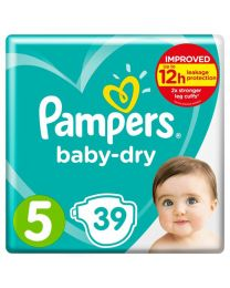 Pampers Baby Dry Size 6 Nappies - 33 Pack