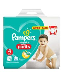 Pampers Baby Dry Pull Up Pants Size 4