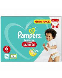 Pampers Baby Dry Pull Up Pants Size 6