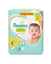 Pampers Premium Protection Size 2 Nappies