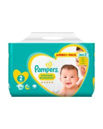 End of Line - Premium Protection Jumbo+ Pack 4-8kg (86 Nappies).