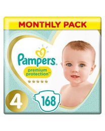 Pampers Premium Protection Size 5 Monthly Pack
