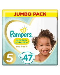 Pampers Premium Protection Size 5 Nappies