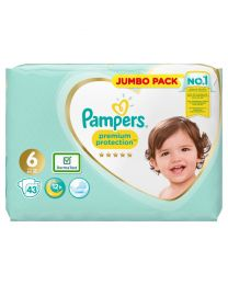 Pampers Premium Protection Size 6 Nappies