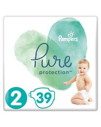 Pampers Pure Protection Nappies 4-8kg