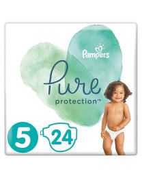 Pampers Pure Protection Nappies Size 5