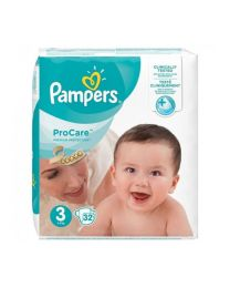 Pampers Pro-Care Essentials Size 3 Nappies.