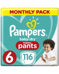 Pampers Baby Dry Pull Up Pants