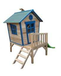 Redwood Tower Playhouse (Wooden Cubby)