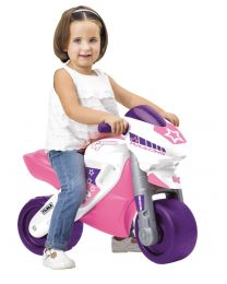 Pink MotoFeber 2 Racing Balance Bike