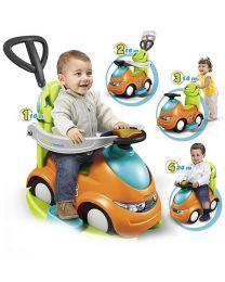 Feber 4 in 1 Push-N-Go Kids Ride On Car