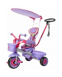 Purple Ultima Plus Safety Trike with Autosteer and Parental Control System