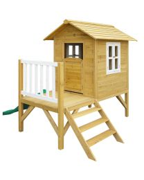The Wallaby 2 Wooden Cubby Playhouse