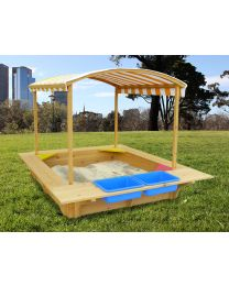 Playfort Sandpit with Canopy