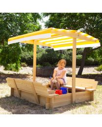 Skipper Sand and Shade Sandpit With Canopy