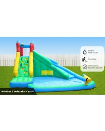 Windsor 2 Slide and Splash Jumping Castle
