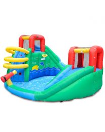 Atlantis Double Slide & Splash Jumping Castle